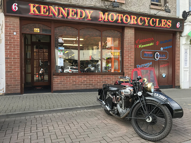 About Kennedy Motorcycles