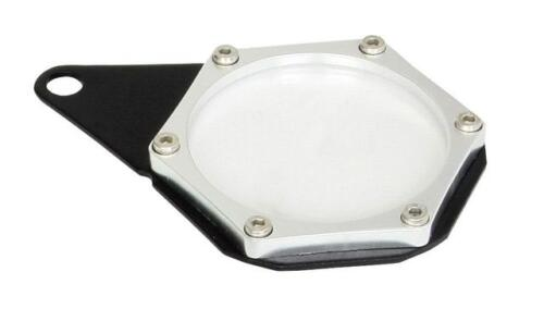 Hexagon Silver Tax Disc Holder